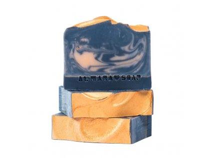 Designové ručně vyrobené mýdlo ALMARA SOAP AMBER NIGHTS