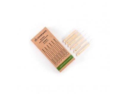 GoodWays bambusový mezizubní kartáček (6ks; 0,4mm)