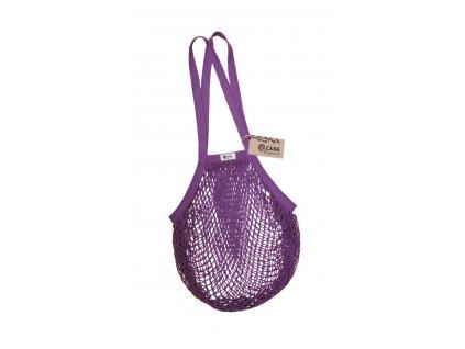 """Nákupní taška """"Síťovka"""" Casa Organica z biobavlny - dlouhá ucha"""