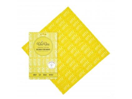 Látkový voskovaný ubrousek BeeBee Wrap - SINGLE WRAP