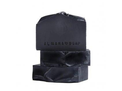 Přírodní ručně vyrobené mýdlo ALMARA SOAP BLACK AS MY SOUL