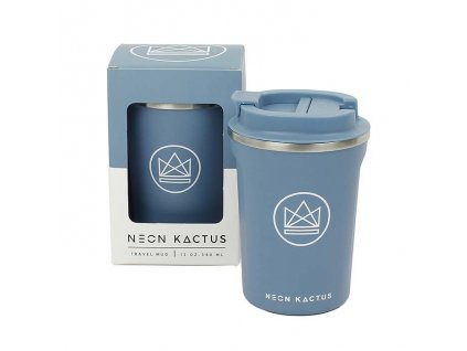 Termohrnek / Travel Mug NEON KACTUS 380 ml