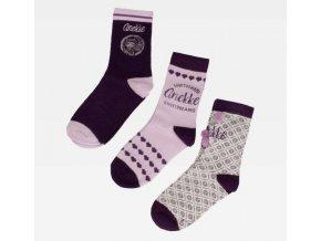 Anekke Dreams - Set 3 párov ponožiek