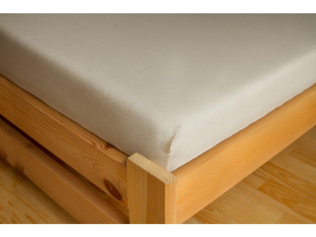 Prostěradlo Frote 180x200 Bílá 80% bavlna a 20% polyester