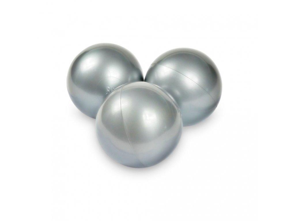 stříbrné kuličky do bazénku