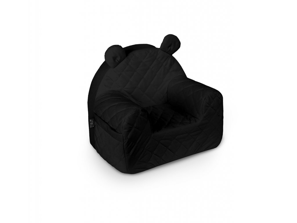 fotelik velvet black