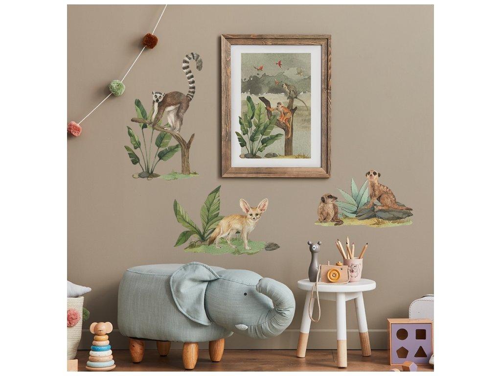 safari zvířaty