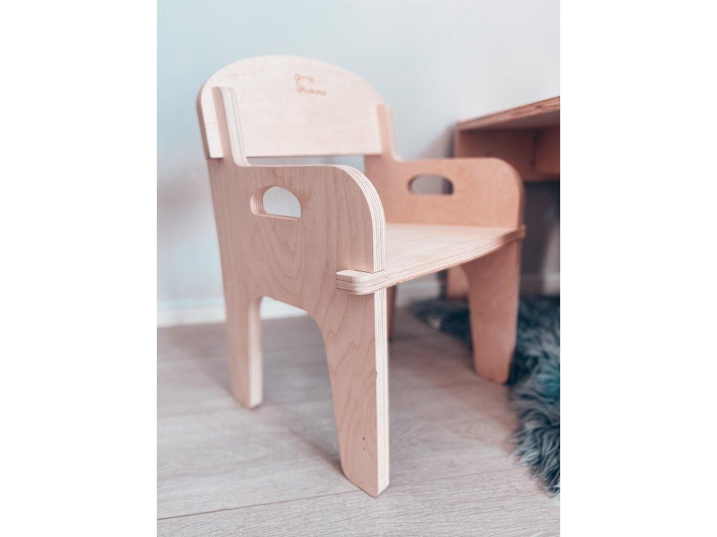 Dřevěné křesílko/židlička Mumma