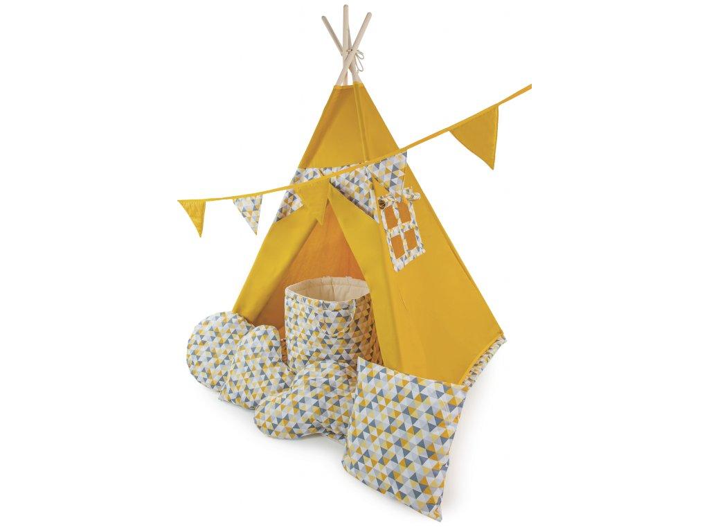stan do dětského pokoje žlutý