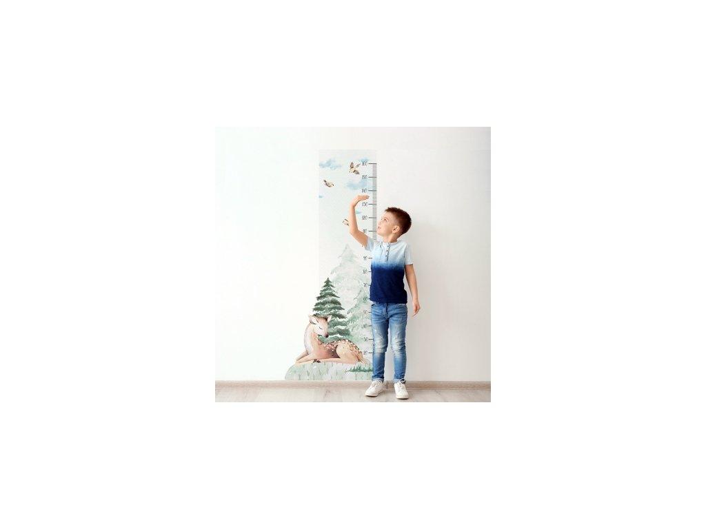 Samolepka na zeď - Lesní metr