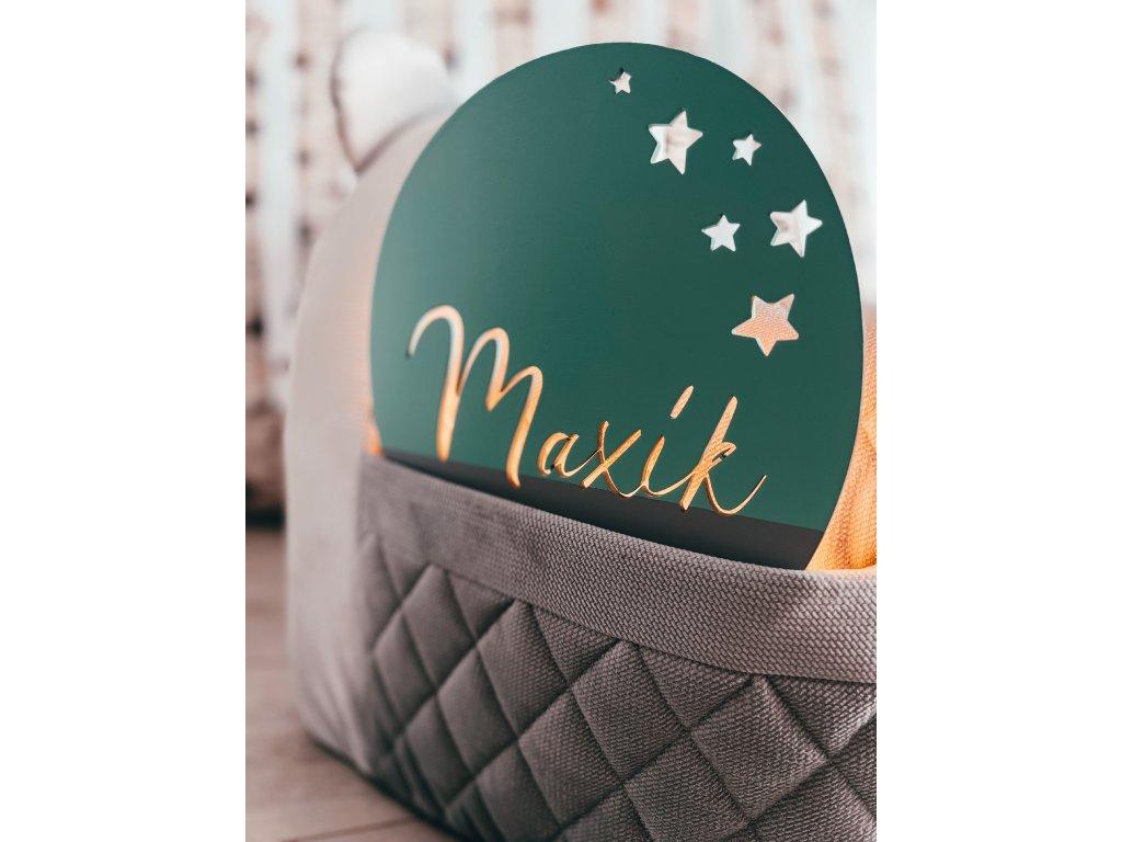svítící balónek