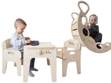 nábytek a hračky ze dřeva pro děti