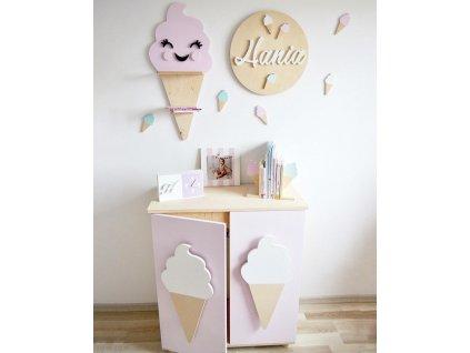 komoda pro děti zmrzlina
