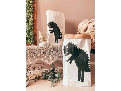 Papírový úložný pytel Dino