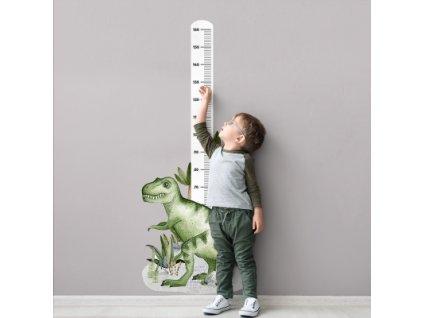Samolepka na zeď - Dinosaurus metr
