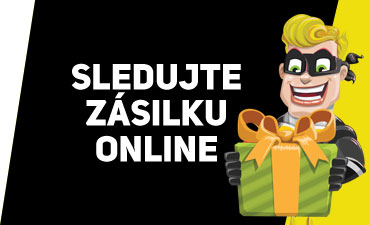 Sledujte zásilku online