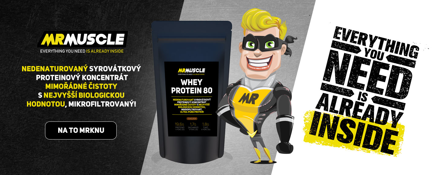 MR.MUSCLE - Whey protein 80