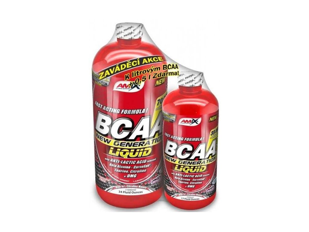 Amix BCAA New Generation 1000 ml + 500 ml ZDARMA