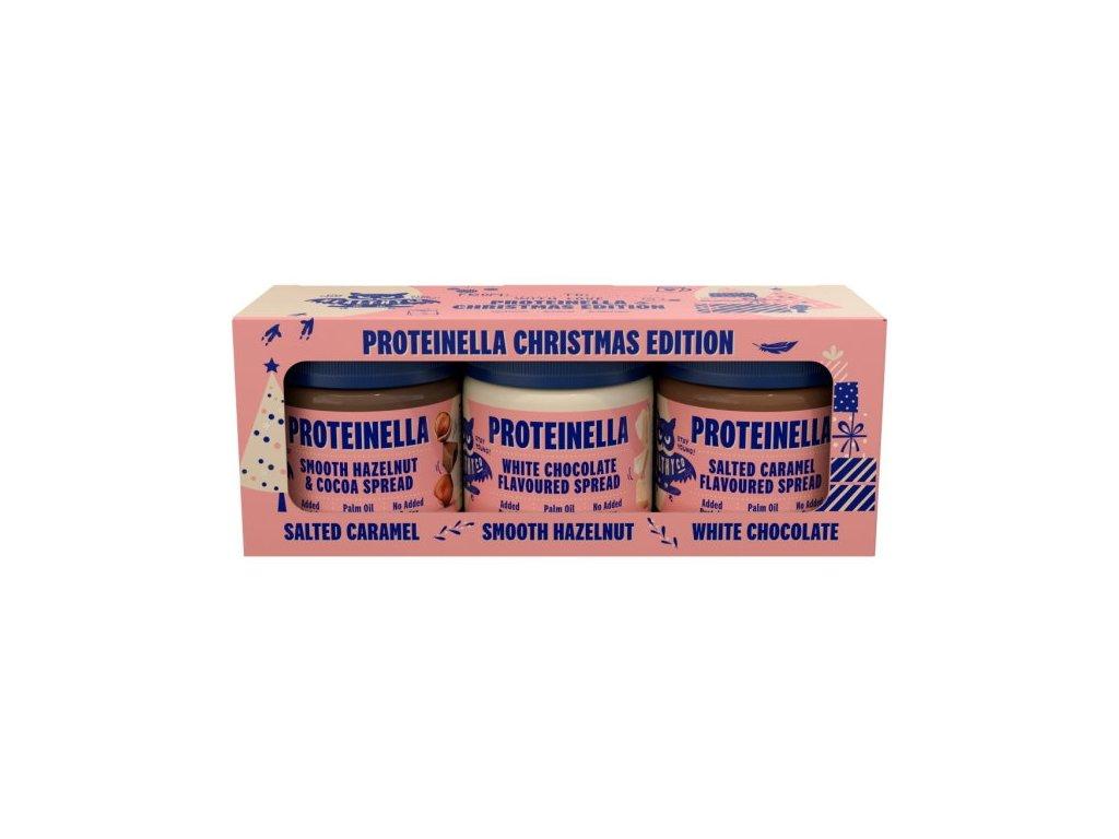 Healthyco Vánoční edice Proteinella 3×200g