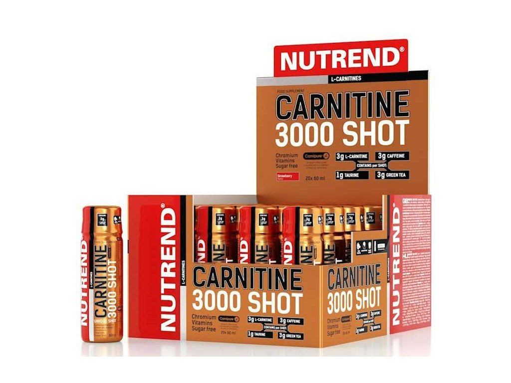 Nutrend Carnitine 3000 Shot 60 ml