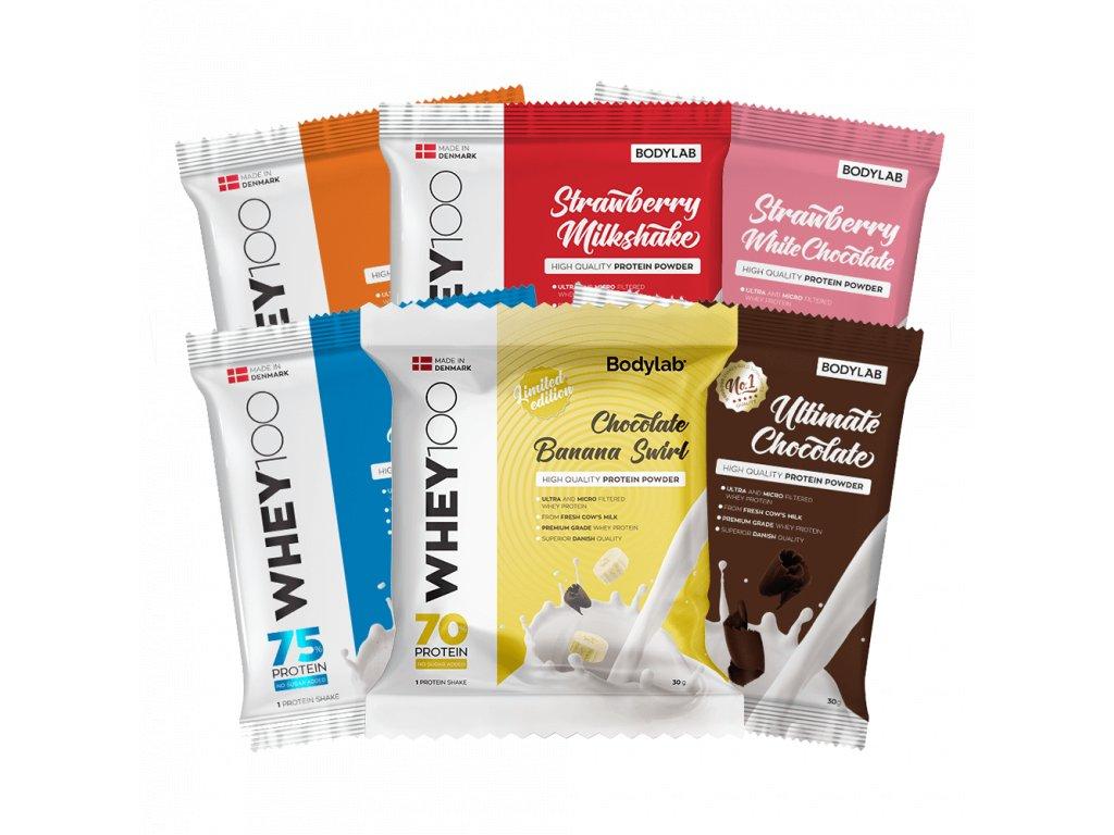 BodyLab Whey 100 sample chocolate