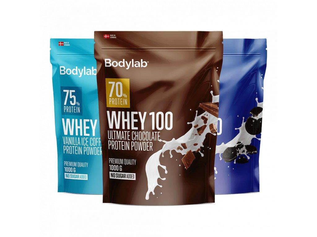 BodyLab Whey 100 vanilla ice coffee 1000g