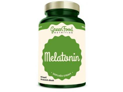 GreenFood Melatonin 60kapslí