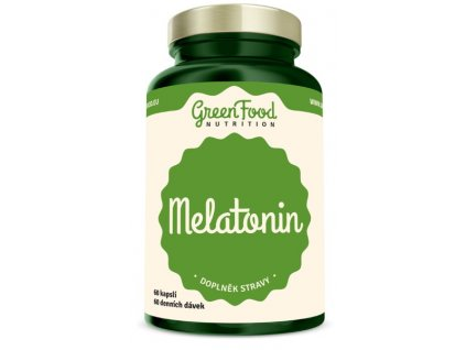 GreenFood Melatonin 60 kapslí