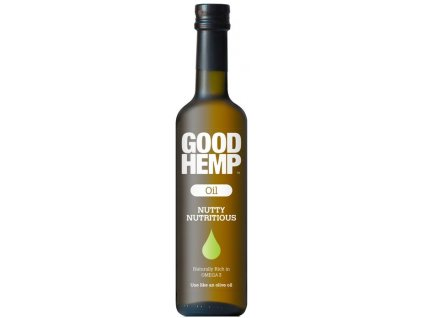 Good Hemp Oil (Konopný olej) 500 ml