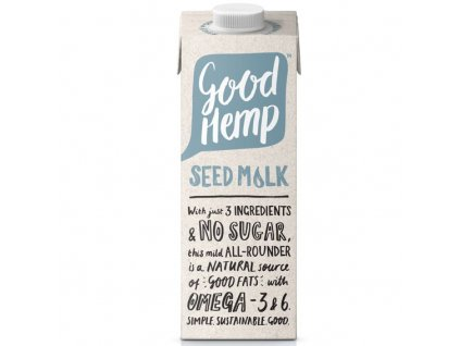 Good Hemp Creamy Seed Milk (Konopný nápoj) 1000 ml