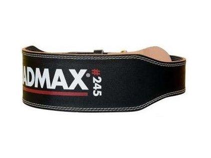 MadMax opasek celokožený full leather MFB245 černý