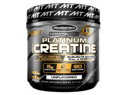 MuscleTech Platinum 100% Creatine 400 g