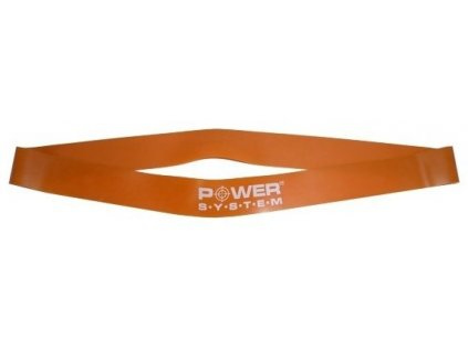 Power System Gumička na cvičení Resistance Band Loop oranžová