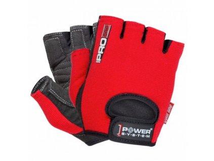 Power System Rukavice Pro Grip červené