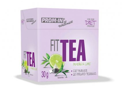 Prom-IN Fit Tea Spalovač tuků limetka 30 g