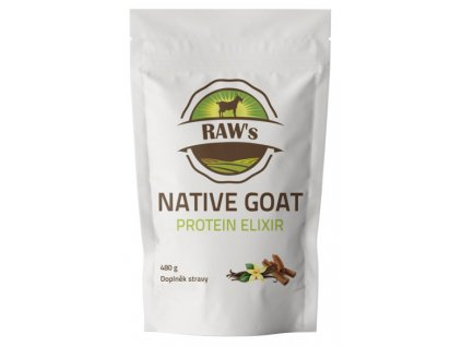 Raw´s Native Goat Protein Elixir 480 g