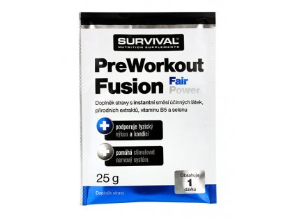 Survival PreWorkout Fusion Fair Power 25 g