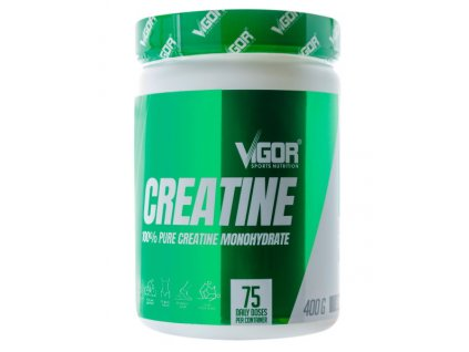 Vigor 100% Pure Creatine Monohydrate 400 g