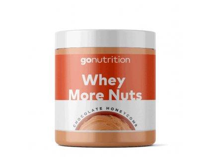GoNutrition Whey More Nuts EXP Mléčná čokoláda 250g