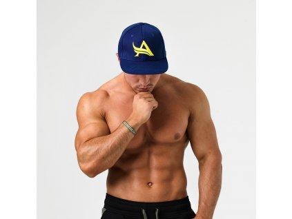 Aesthetix Era pánská kšiltovka Snapback Navy Modrá