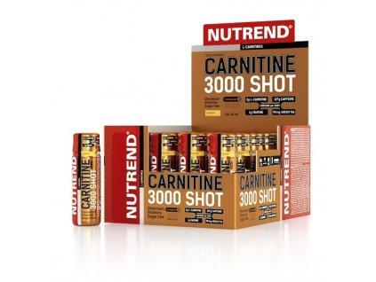 Nutrend Carnitine 3000 Shot Pomeranč 60ml