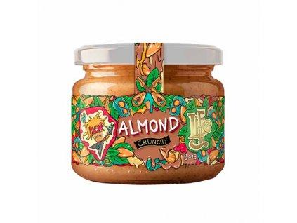 LifeLike Mandlové máslo Crunchy - kousky ořechů 300g