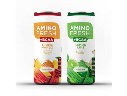 Fresh2Go Amino Fresh Lime Citrus 330ml