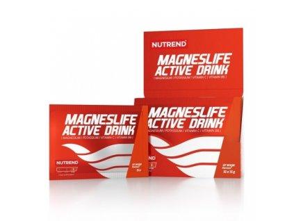 Nutrend Magneslife Active drink Citron 15g