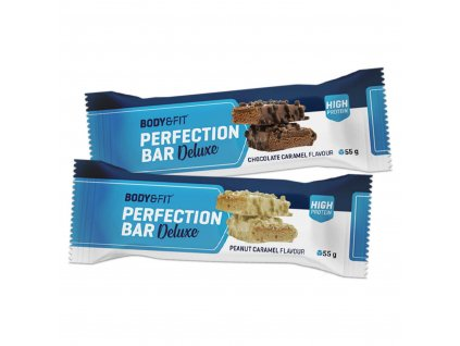 Body & Fit Perfection Deluxe Protein Bar Buráky karamel 55g