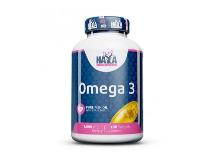 Haya Labs Omega 3 1000mg 100 kapslí