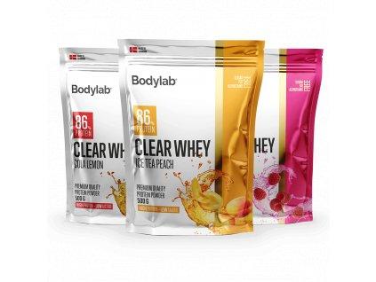 BodyLab Clear whey ice tea peach