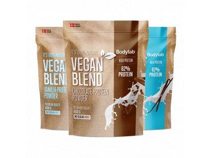 BodyLab Vegan Protein blend chocolate