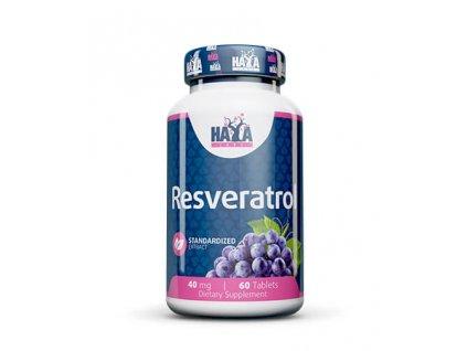 Haya Labs Resveratrol 40mg 60ct