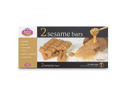 Jannis Deluxe 2 Sesame bar set 140g